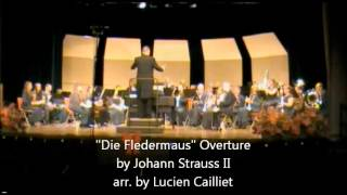 """Die Fledermaus"" Overture - WVSU Wind Ensemble (Fall 2012)"