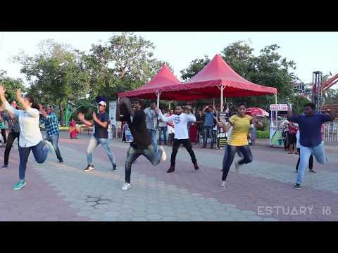 Flashmob - Estuary'18 | Indian Maritime University, Chennai | Feb 18, 2018