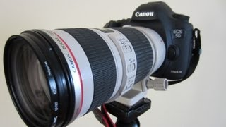 Unboxing: Canon EF 70 200mm f4/L IS USM