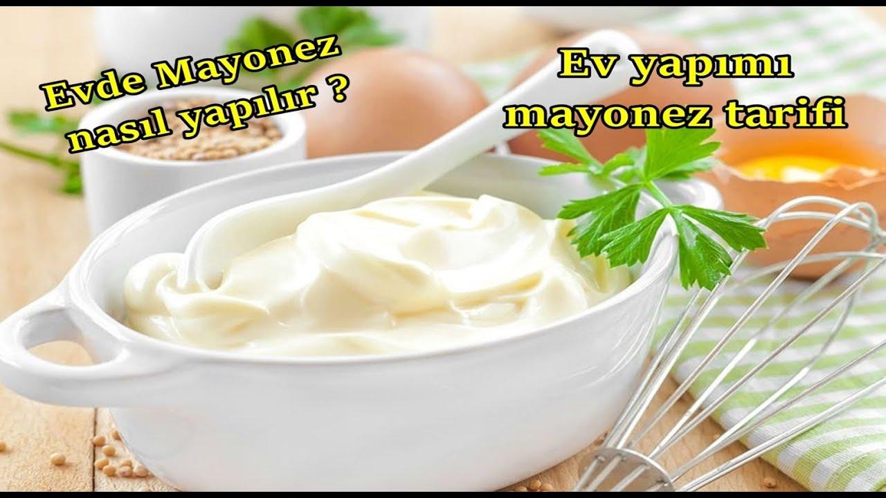 Evde mayonez nasıl yapılır