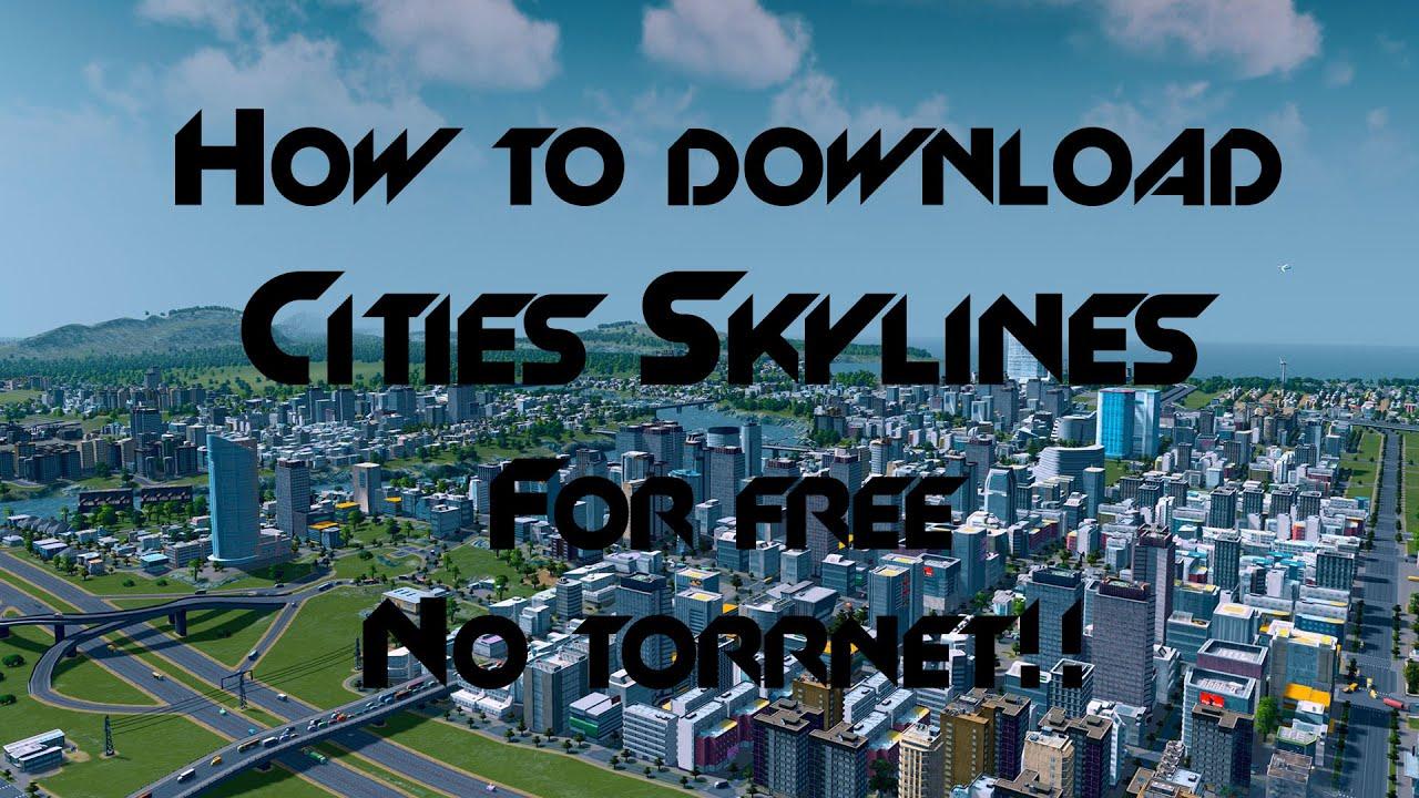 скачать city skylines торрент