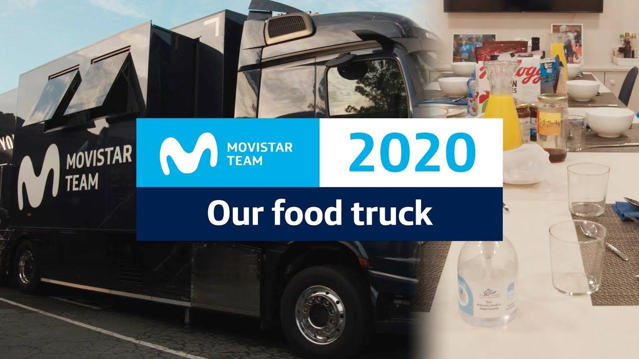 Download Así es el camión cocina de Movistar Team