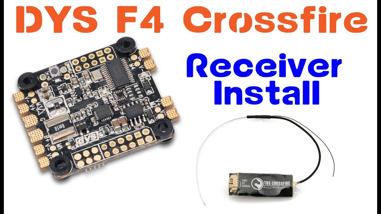 Tbs Crossfire Receiver Wiring Install How To Dys F4 Pro Cbs 12 Circuit Module