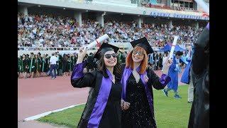 Akdeniz Üniversitesi Mezuniyet Töreni 2019