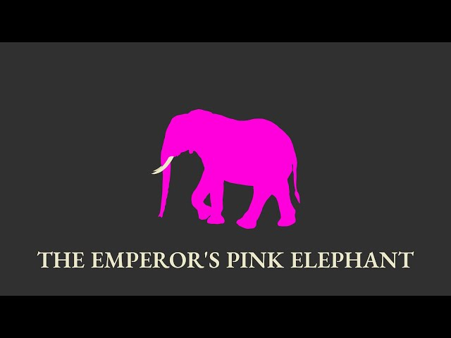 Audio Story - The Emperor's Pink Elephant