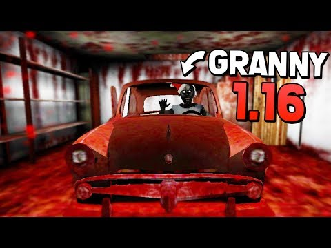 NEW GAME OVER  SCENE, PEPPER SPRAY & NIGHTMARE MODE! (Granny Mobile 1.6 Full Gameplay - New Update)