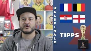 WM 2018 Tipps – Halbfinale – Frankreich, Belgien, Kroatien und England – wer macht das Rennen?