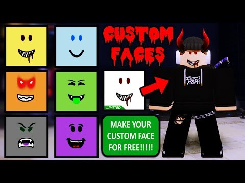 Wow Face Roblox Create Your Own Custom Face In Roblox Free Youtube