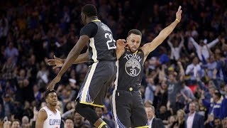 Stephen Curry 44 Punti/8 triple e 10 assist vs Clippers