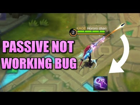 LESLEY PASSIVE BUG CANNOT USE