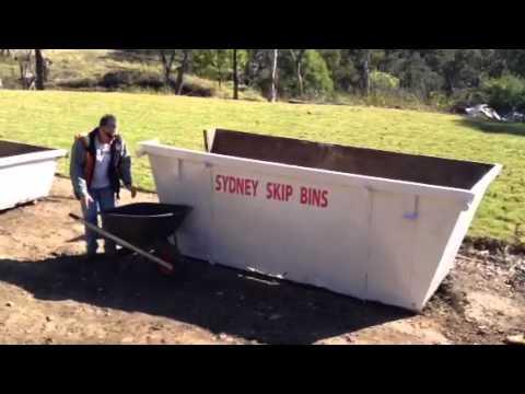 5 cubic metre skip bin sydney skip bins youtube. Black Bedroom Furniture Sets. Home Design Ideas