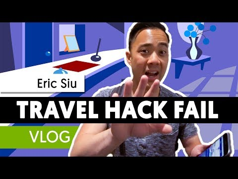 Travel hack fail - Business on the road in Austin - Vlog 07 part 1