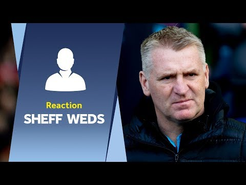 Dean Smith's Sheff Weds reaction: What a win!
