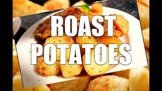 Best Roast Potatoes in WORLD - GARLIC ROASTED POTATOES  | Chef Ricardo Cooking