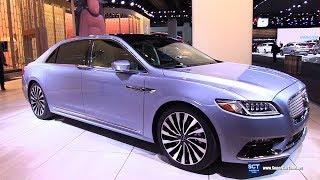 2019 Lincoln Continental Coach Edition - Exterior and Interior Walkaround - Debut at 2019 Detroit A