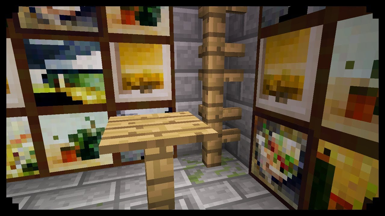 Minecraft: How to make a simple table