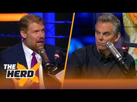 Alexi lalas joins colin cowherd to react to the 2018 world cup draw | the herd