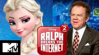 Wreck It Ralph 2: John C. Reilly Plays Would You Rather & Talks Frozen 2   MTV Movies