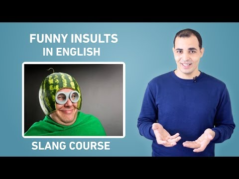 American Slang Words That You Need To Know: Funny Insults 2