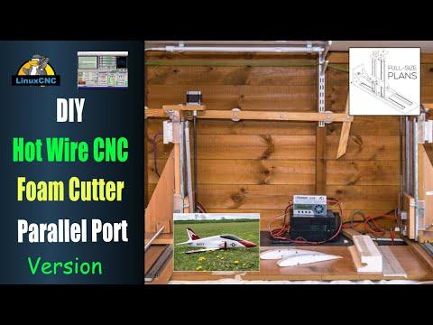 DIY Hot Wire CNC Foam Cutter - Free eBook