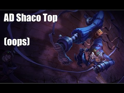 League of legends shaco gameplay season 4 / Cartoon network