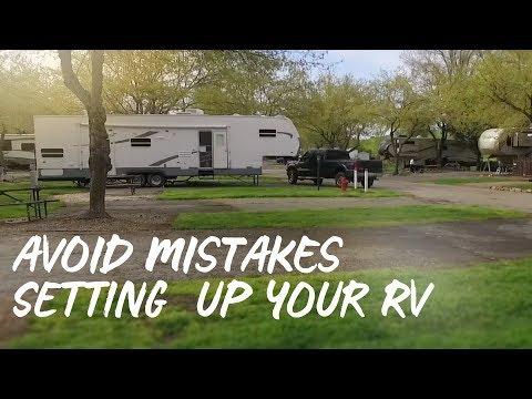 How To Setup Your RV Campsite! RV Newbie.
