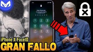 FACE ID FALLA EN VIVO Apple Event #FaceIDGate