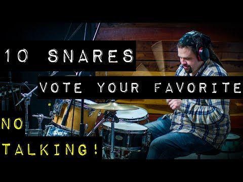 Shootout of 10 Snares - No Talking - Episode to Follow - Premieres Tuesday at 2PM EST