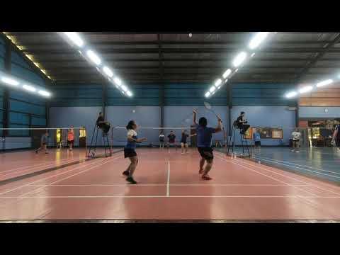 Badminton 2018 Dual meet ACN vs Globe Game 1