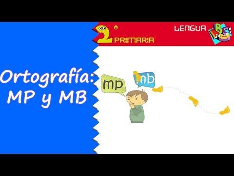 Lengua, 2º Primaria. Tema 11. Ortografía: mp y mb