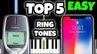 top 5 ringtones of all time and how to play them