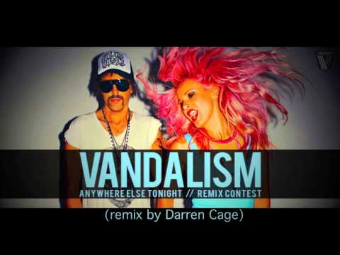 Vandalism ft. Nick Clow - Anywhere else tonight (remix by Darren Cage)