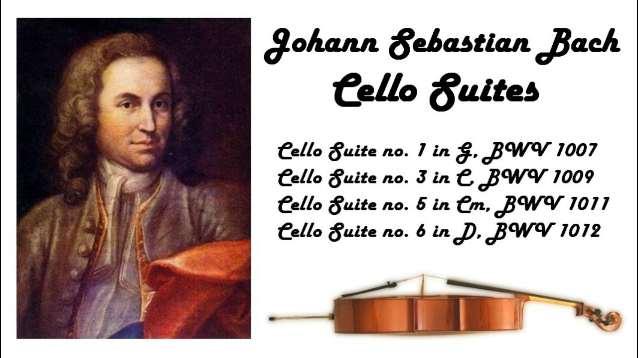 Johann Sebastian Bach Cello Suites In 432 Hz Great For Reading Or Studying Youtube
