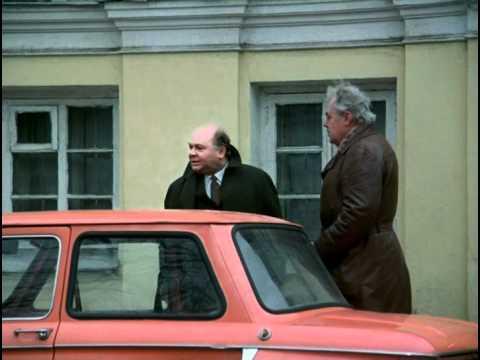 Отрывки из фильма Слезы капали с Евгением Леоновым