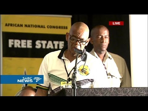 Free State ANC Conference: 10 December 2017