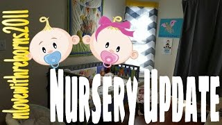 NEW BABY NURSERY! NURSERY UPDATE! REBORN BABY DOLL COLLECTION
