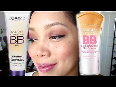 First Impression: Drugstore BB Creams Maybelline and Loreal