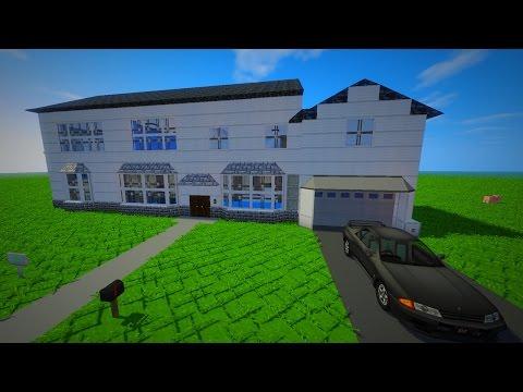 Minecraft comment cr er une belle maison - Comment creer une belle maison dans minecraft ...