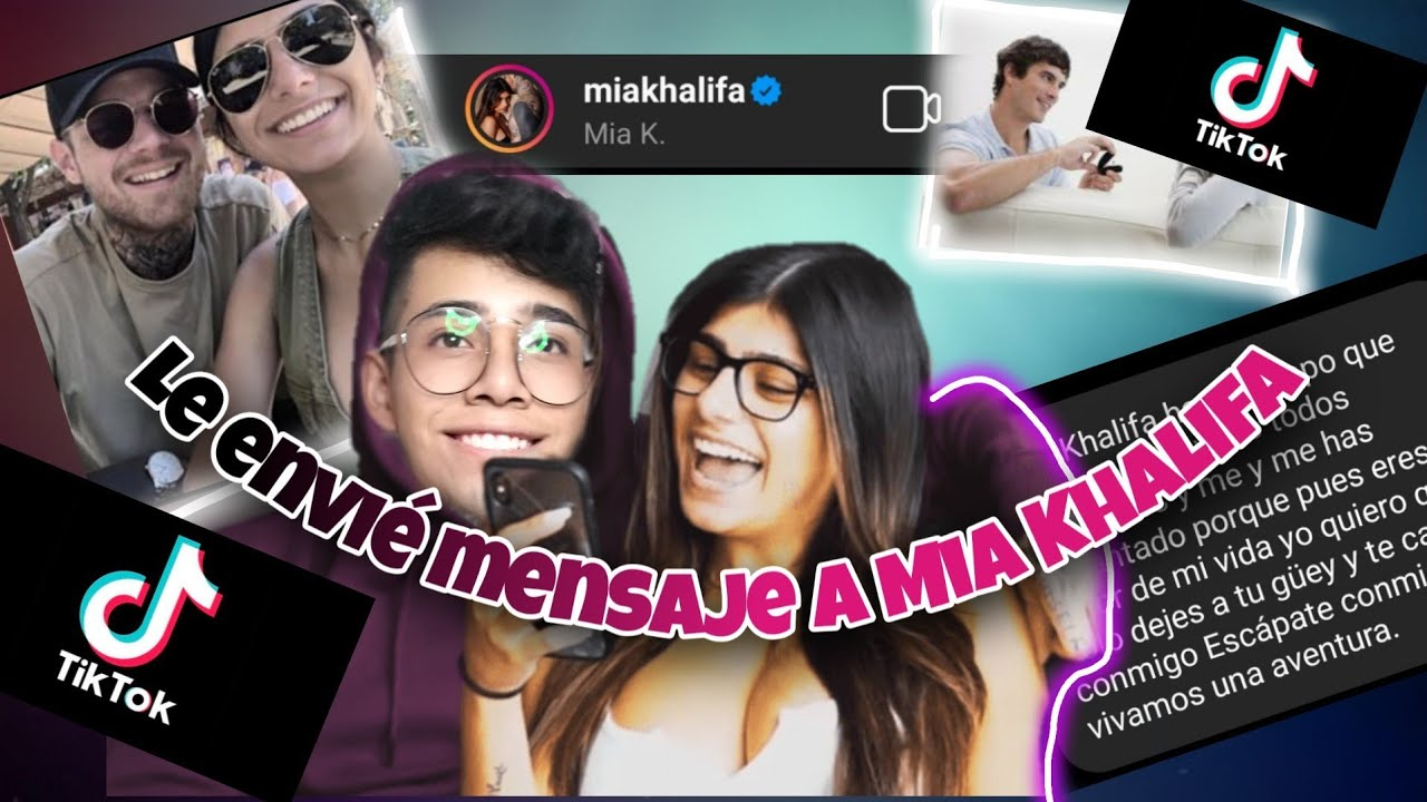 Mensaje a Mia Khalifa en tik Tok - YouTube