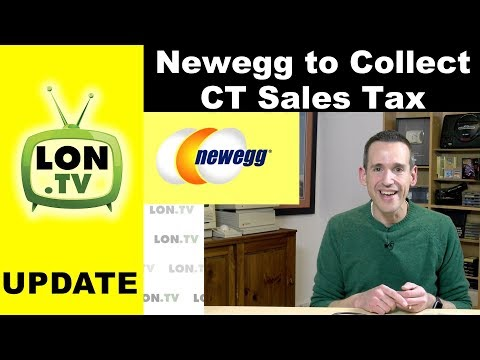Newegg Will Collect CT Sales Tax - What they should have done in the first place..