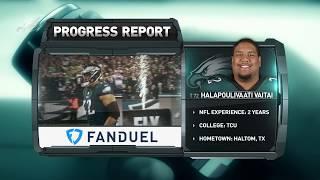 Eagles Progress Report: T Halapoulivaati Vaitai