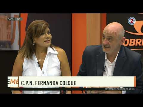Sobremesa 30-03-20| C.P.N. Fernanda Colque