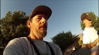 Bass Fishing in Folsom after work. Urban Bass Slayers fishing
