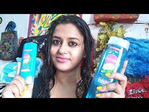 sunsilk-shampoo-&-conditioner-with-coconut-water-&-aloevera-review-&-demo-l-volume-–-anindita