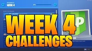 SEASON 9 WEEK 4 CHALLENGES GUIDE Fortnite - Dance on top of a giant Dumpling head (LEAKED)
