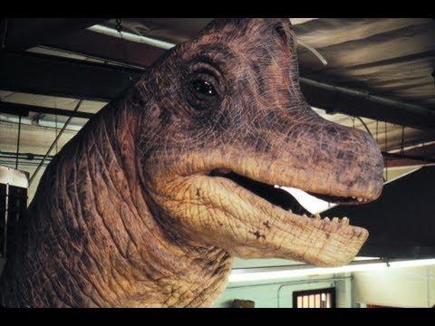 Jurassic park brachiosaurus animatronic puppet rehearsal youtube - Dinosaure de jurassic park ...