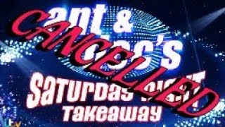 Ant & Dec's Saturday Night Takeaway Has Been Cancelled!