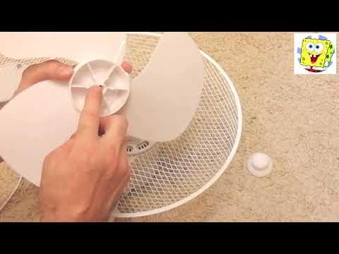 Как собрать НАСТОЛЬНЫЙ вентилятор самостоятельно