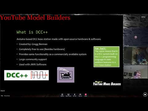 YouTube Model Builders is proud to present-Special DCC++
