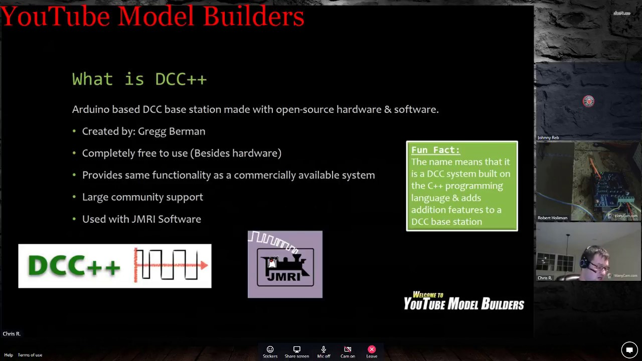 YouTube Model Builders is proud to present-Special DCC++ System Build   March 10, 2018